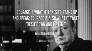 Churchill-speak-listen