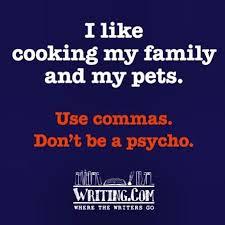 psycho commas
