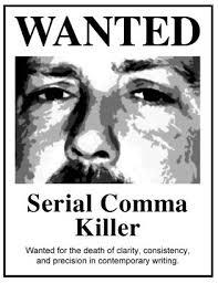 serial comma killer