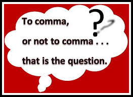to comma or not