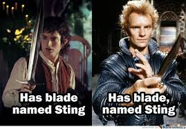 blade named Sting