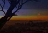 Mars over battlefield