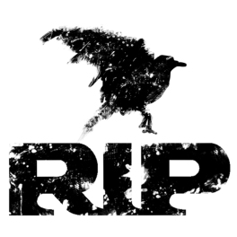 RIP Raven Logo square