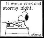 snoopy writer cartoon