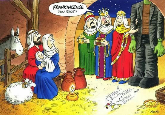 Frankincense, not Frankenstien