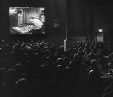 watching a movie 1930s