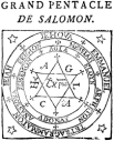 grand pentacle of Solomon