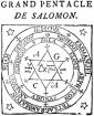 grand pentacle of Solomon