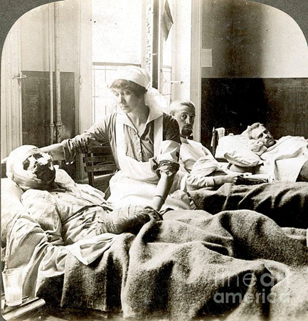 16. in hospital