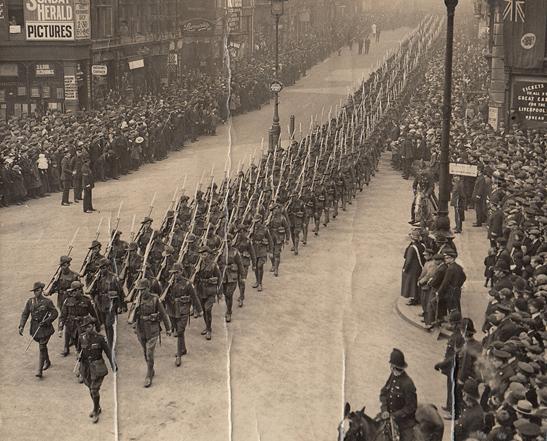 2. soldier parade