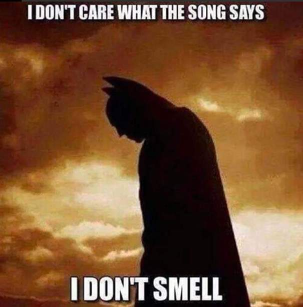 1. I-dont-care-what-the-song-says-I-dont-smell