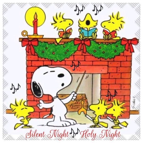 24. snoopy silent night