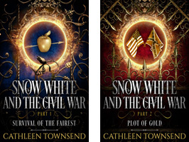 Snow White covers combo clear background
